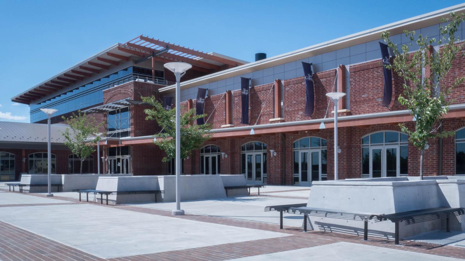 New College Institute's Building on Baldwin