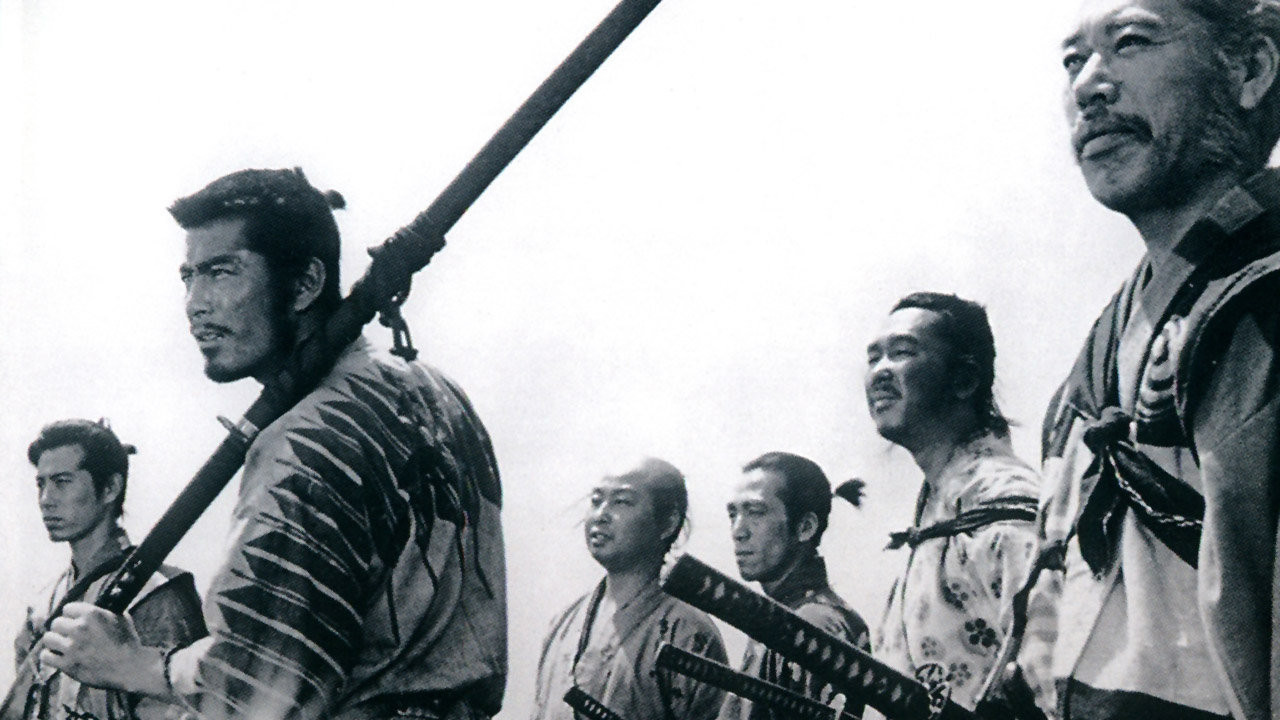 Seven Samurai,  the original cult classic film written and directed by Akira Kurosawa - image via  Google .