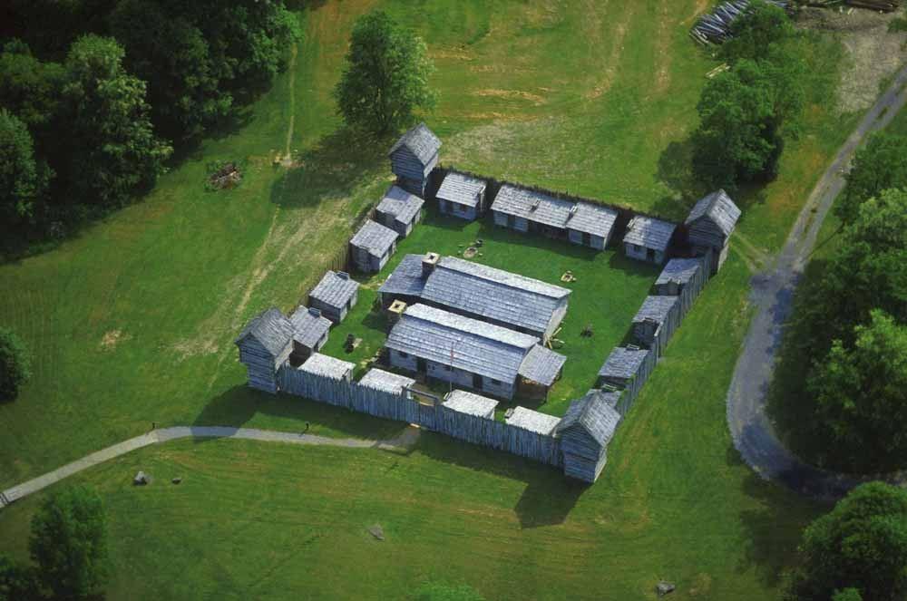 Prickett's Fort State Park via LocationsHub .