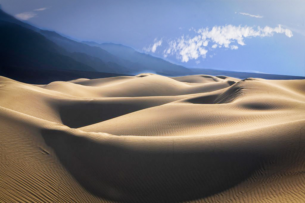 Death Valley National Park was the film location of many movies, including  Star Wars: The New Hope .