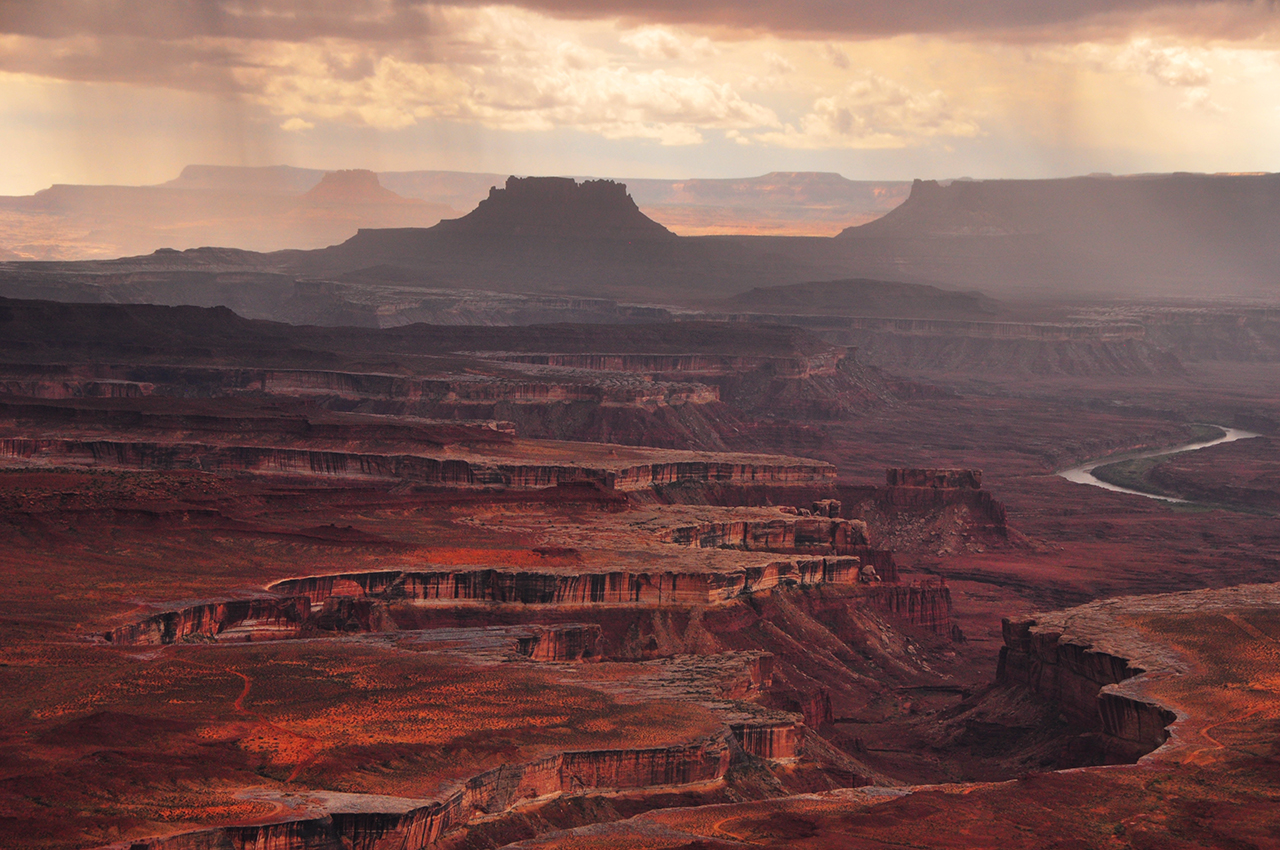 Canyonlands National Park has been the star in many movies, including Samsara, The Greatest Story Ever Told, Baraka,and our own favorite Thelma & Louise. Photo via  Google .