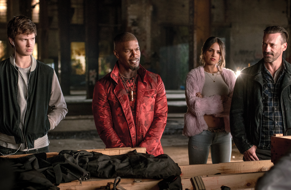 This scene from  Baby Driver  was filmed at Pullman Yards. (Photo via  Google .)