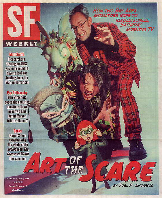 SF Weekly Cover Featured Article