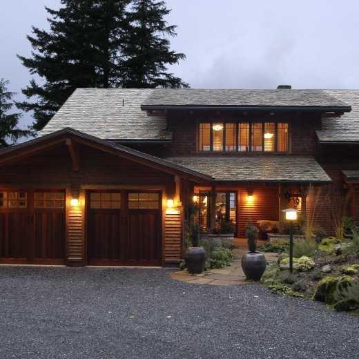 Craftsman Home on Orcas Island, Washington