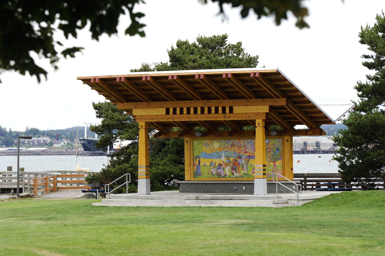 Bellingham Timber Frame Pavilion