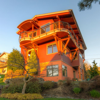 New Home in the Fairhaven neighborhood of Bellingham, Washington