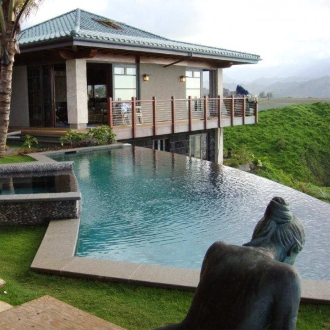South Pacific Island Inspired Home on Kauai, Hawaii