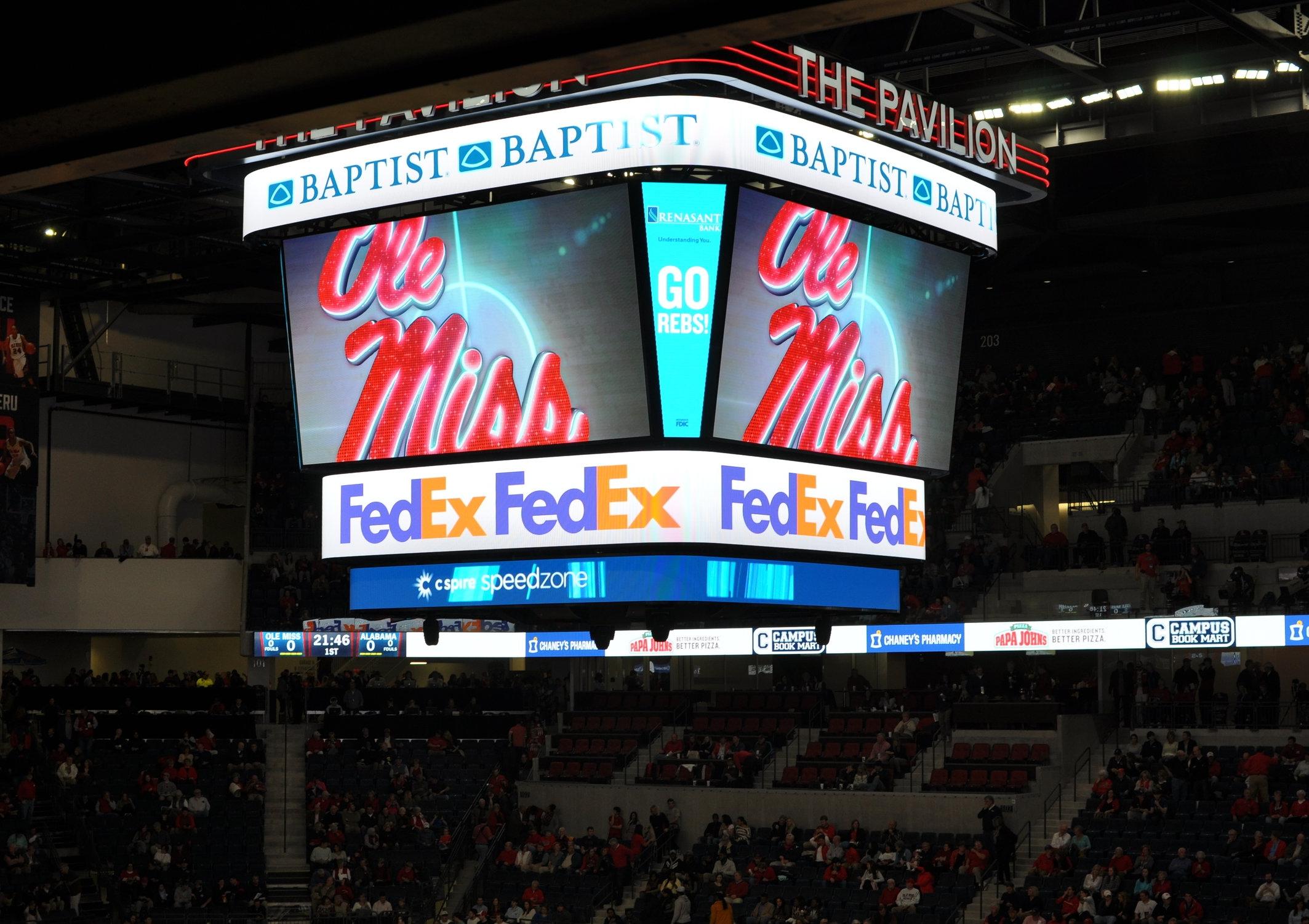 Ole Miss Pavilion -Premier Arena of the SEC