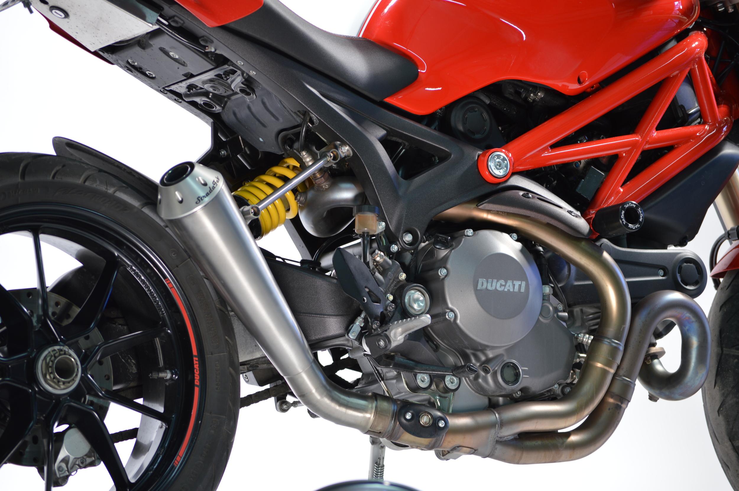 Titanium Ducati Monster 1100 EVO Exhausts