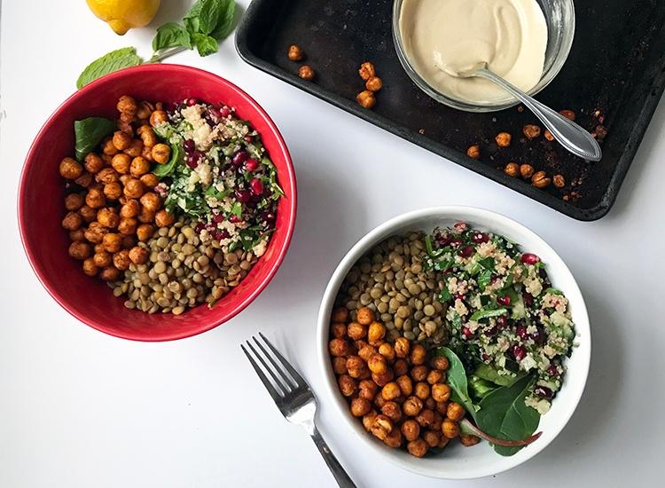 How to Make a Vegan Macro Bowl   CLEAN®