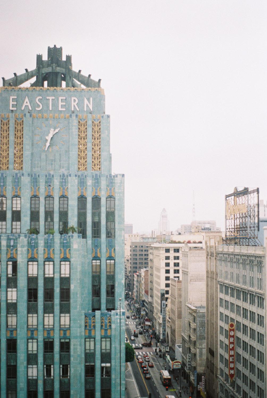 downtown la - los angeles trip - kate weinstein fine art film wedding photographer