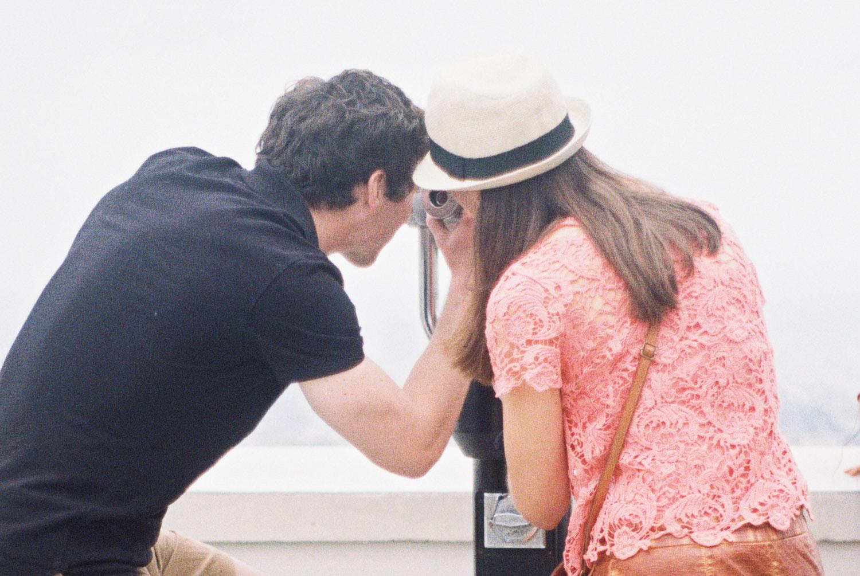 griffith observatory - los angeles trip - kate weinstein fine art film wedding photographer