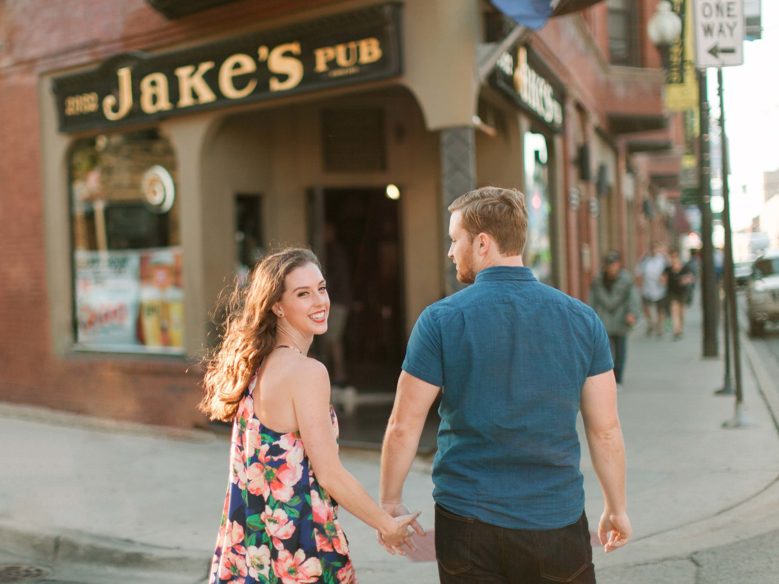 Where you had your first date/ first kiss:  especially if it has a cute exterior / and or neighborhood! Its special and romantic to re-live this places.