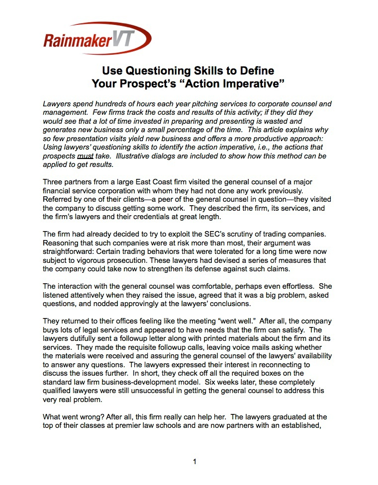 Using Q's to Define the Buyer's Action Imperative pg01.jpeg