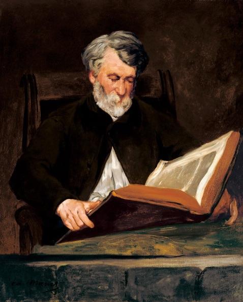 The Reader - Edouard Manet