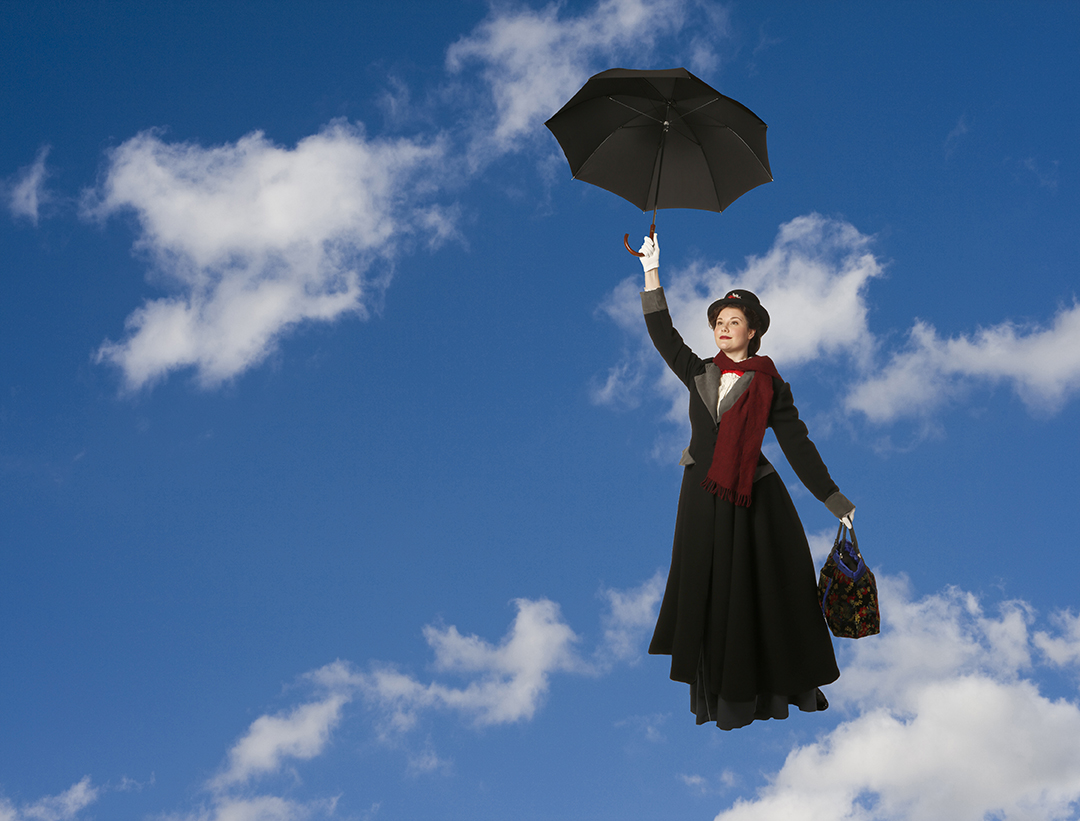 Ranae Miller is Mary Poppins. Image: Tim Matheson