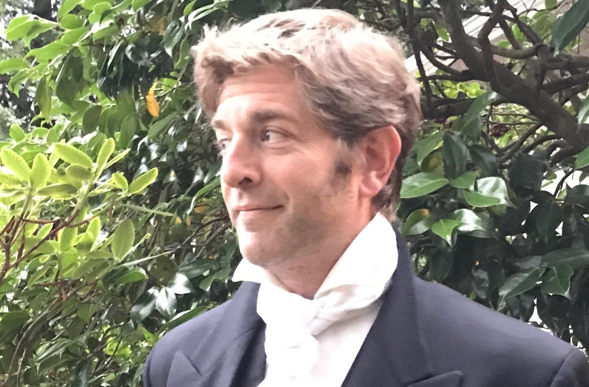 Charles Ross presents his newest caper,  One Man Pride & Prejudice , at the Gabriola Theatre Festival.  | Image: Charles Ross
