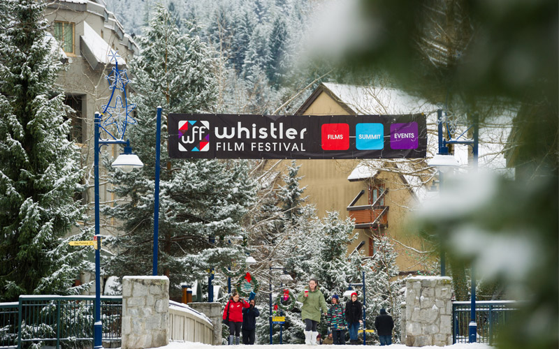 The economic impact of the Whistler Film Festival has been calculated at $12.6 million.   Image: WFF.