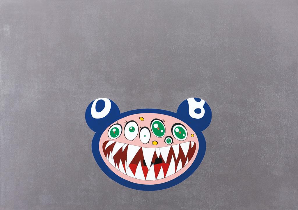 Murakami-10,Takashi Murakami,DOB's March, 1995