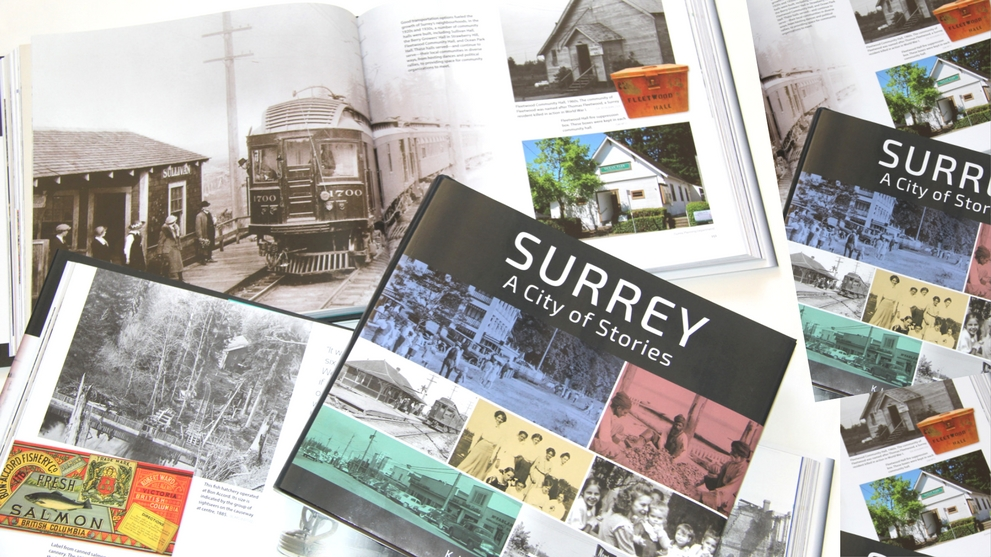 Surrey: A City of Stories  receives a recognition for Heritage Education and Awareness.   Image: City of Surrey.