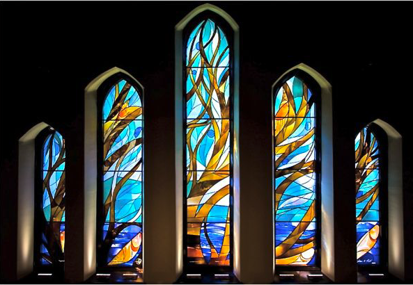 The Tree of Life windows at Christ Church Cathedral: one of Point's most exciting projects. | Image: susanpoint.com