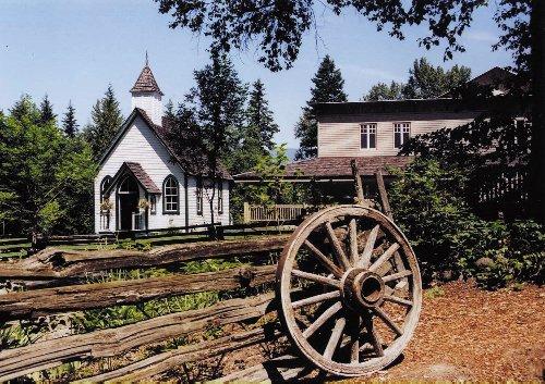 RJ Haney Heritage Village & Museum in Salmon Arm. | Image: Destination BC.