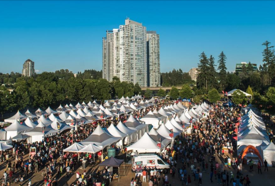 """The City of Surrey's Fusion Festival was named """"Best Festival"""" at the regional Canadian Event Industry Awards in 2017. 