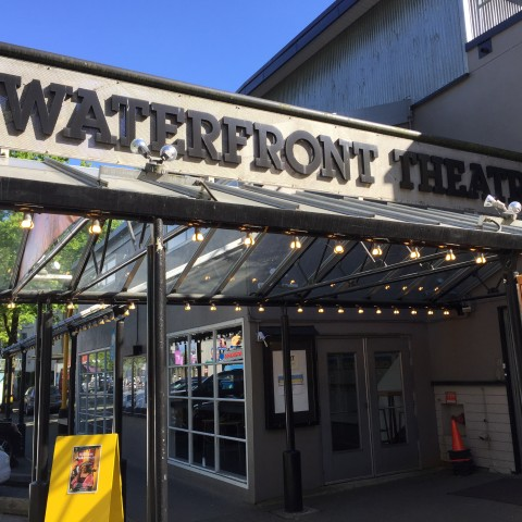 The exterior of the Waterfront Theatre, part of the Granville Island Theatre District. | Image: Granville Island.