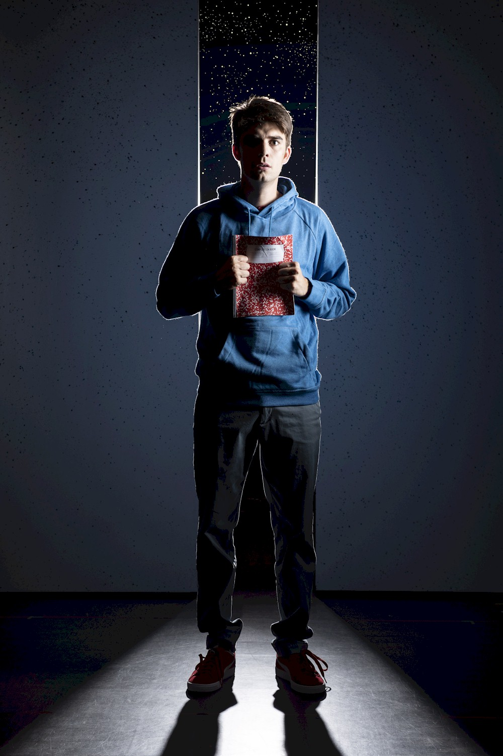 Daniel Doheny stars in  The Curious Incident of the Dog in the Night Time .| Image: David Cooper.