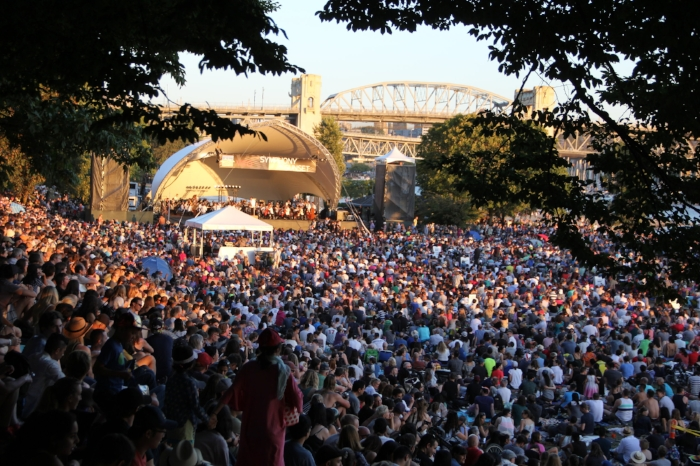 """More than 14,000 attended VSO's inaugural free concert at Sunset Beach in July 2018. """"The music enhances the place and the place enhances the music,"""" says Tweeddale. 