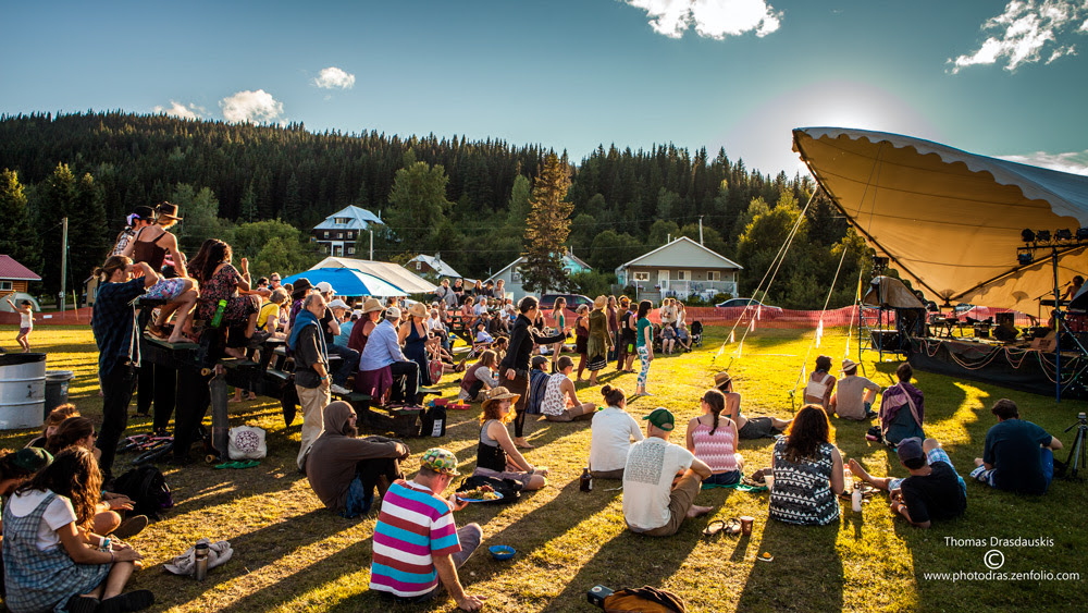 The ArtsWells festival in Wells, BC. | Image: Thomas Drasdauskis.
