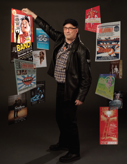 Perry the Poster Man.   Image: Tim Matheson.