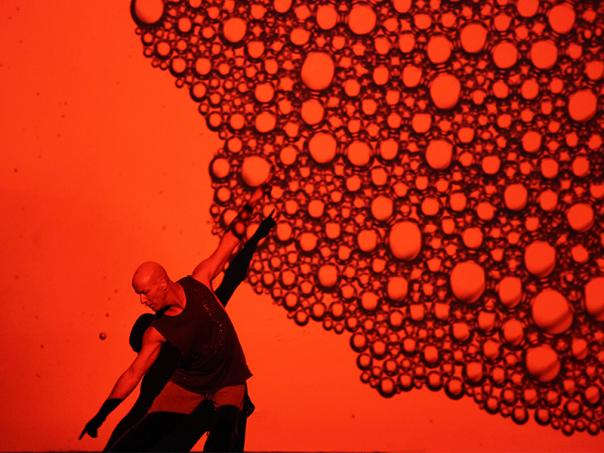 Jacob Boheme in  Blood on the Dance Floor.    Image: Dorine Blaise.