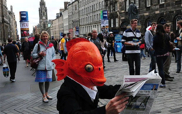 The Edinburgh Fringe. | Image: The Telegraph.