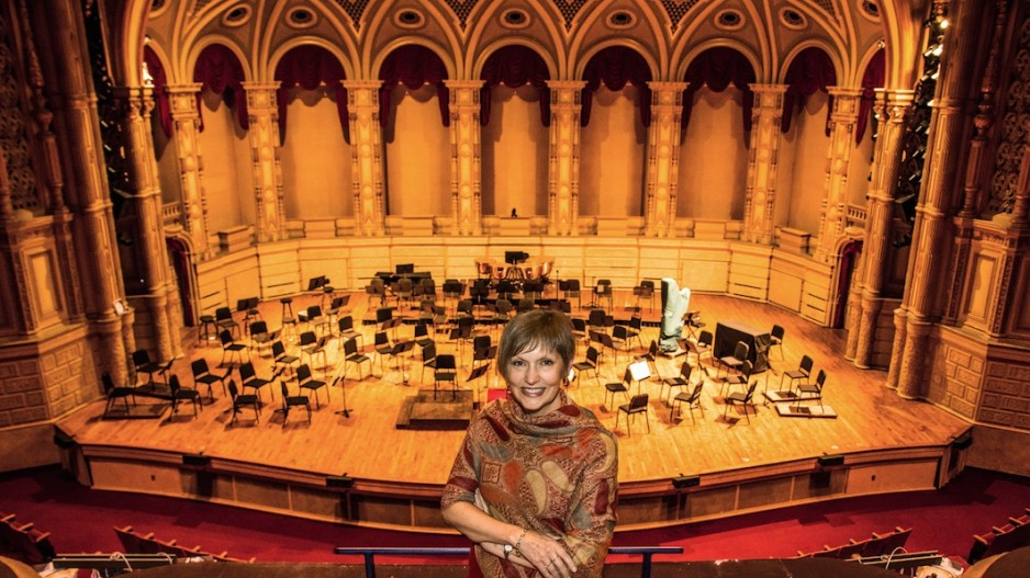 Outgoing VSO and VSO School of Music president Kelly Tweeddale. | Image: Chung Chow, Business in Vancouver.