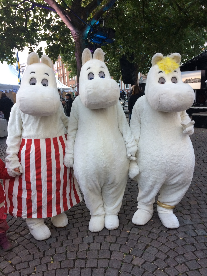 Tove Jansson's Moomins at Nordic Matters in 2017. | Image: Camilla Gross via norden.org
