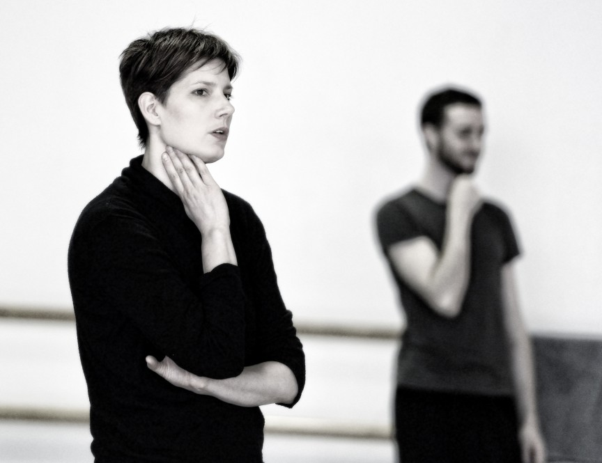 Emily Molnar with Artists of Ballet BC - Photo by Michael Slobodian