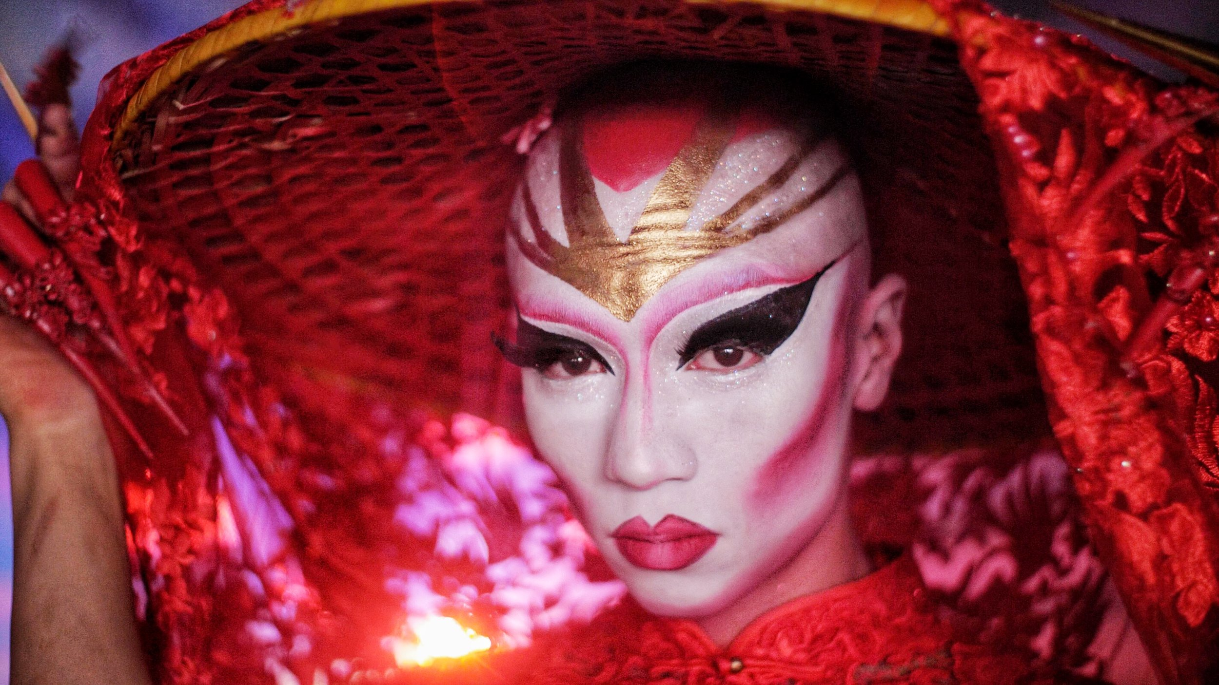 Drag performer Maiden China is the subject of  Yellow Peril: Queer Destiny , playing at Pride at MOA.