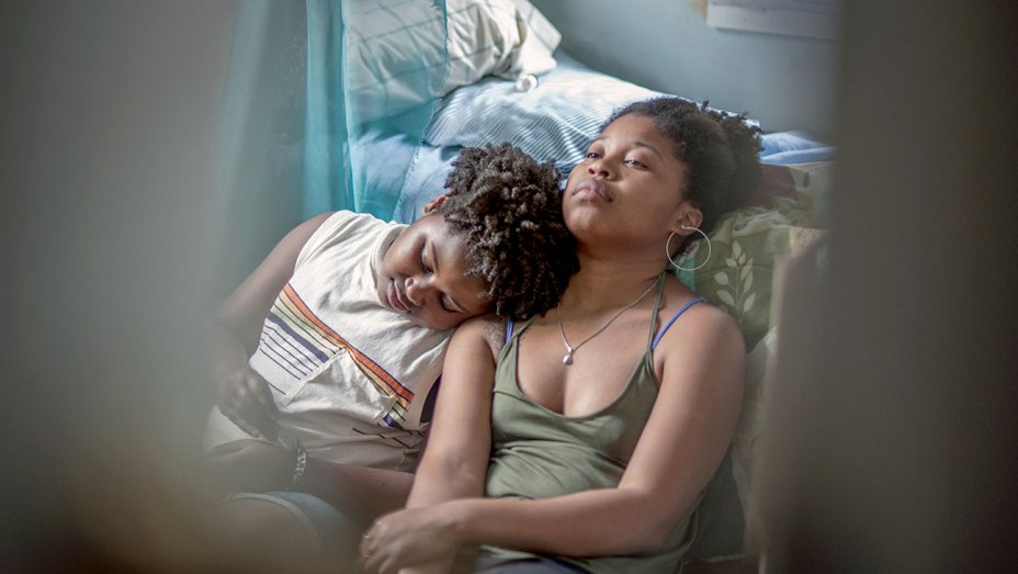 Cymbal Byrd and Dominique Fishback star in  Night Comes On , playing August 17 at the Vancouver Queer Film Festival.