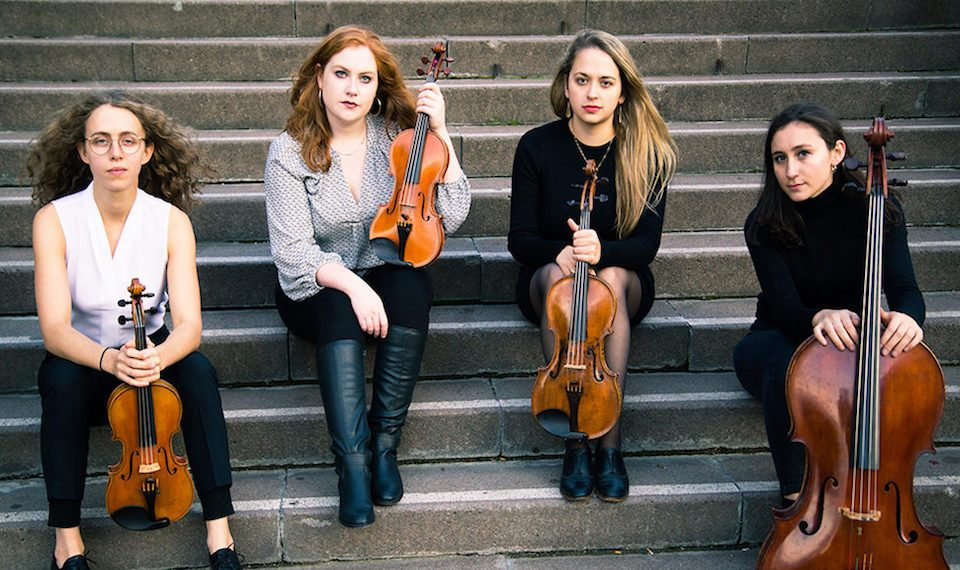The Echéa Quartet is ready to Roam as they land in BC for a pair of performances.