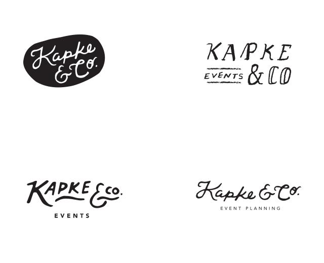 scrapped logo explorations
