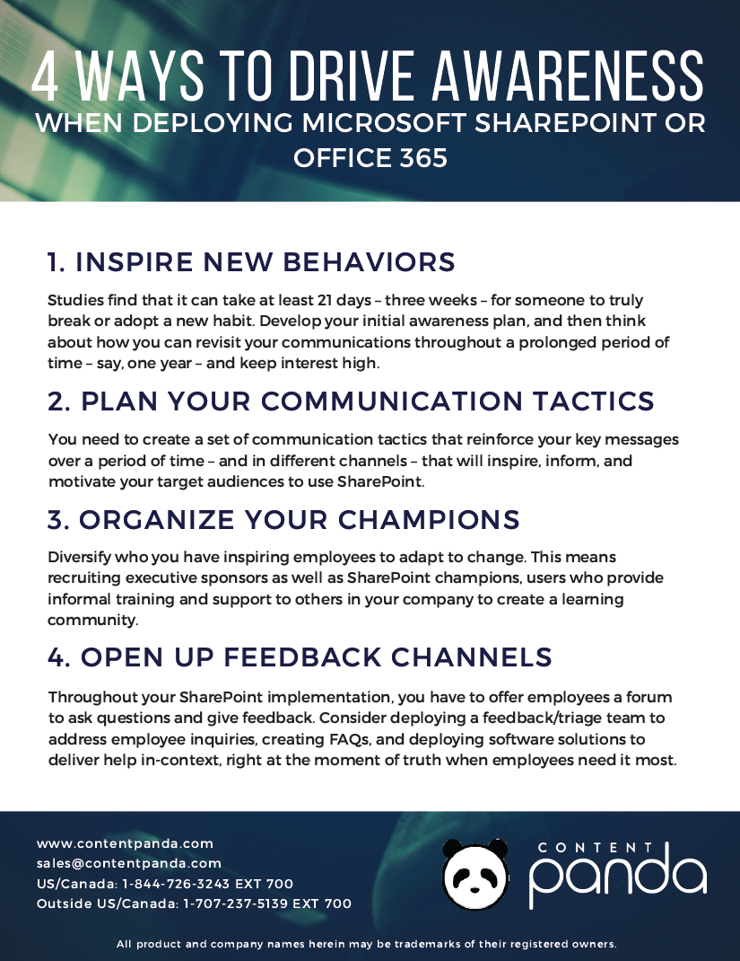 content-panda-checklist-4-ways-to-drive-awareness-when-deploying-microsoft-sharepoint-office365.png