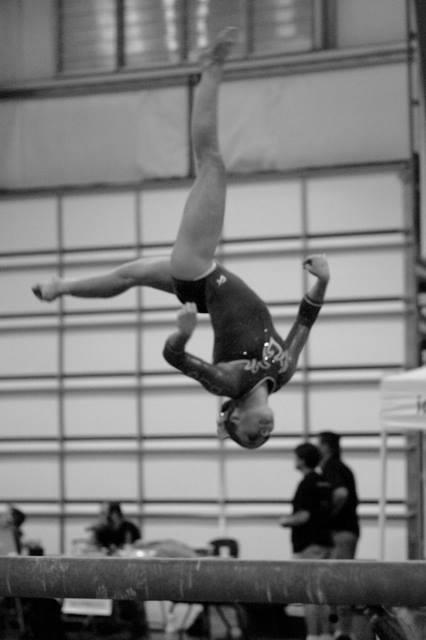 Matt's patient Joselyn Goings (Desert Lights Gymnastics)
