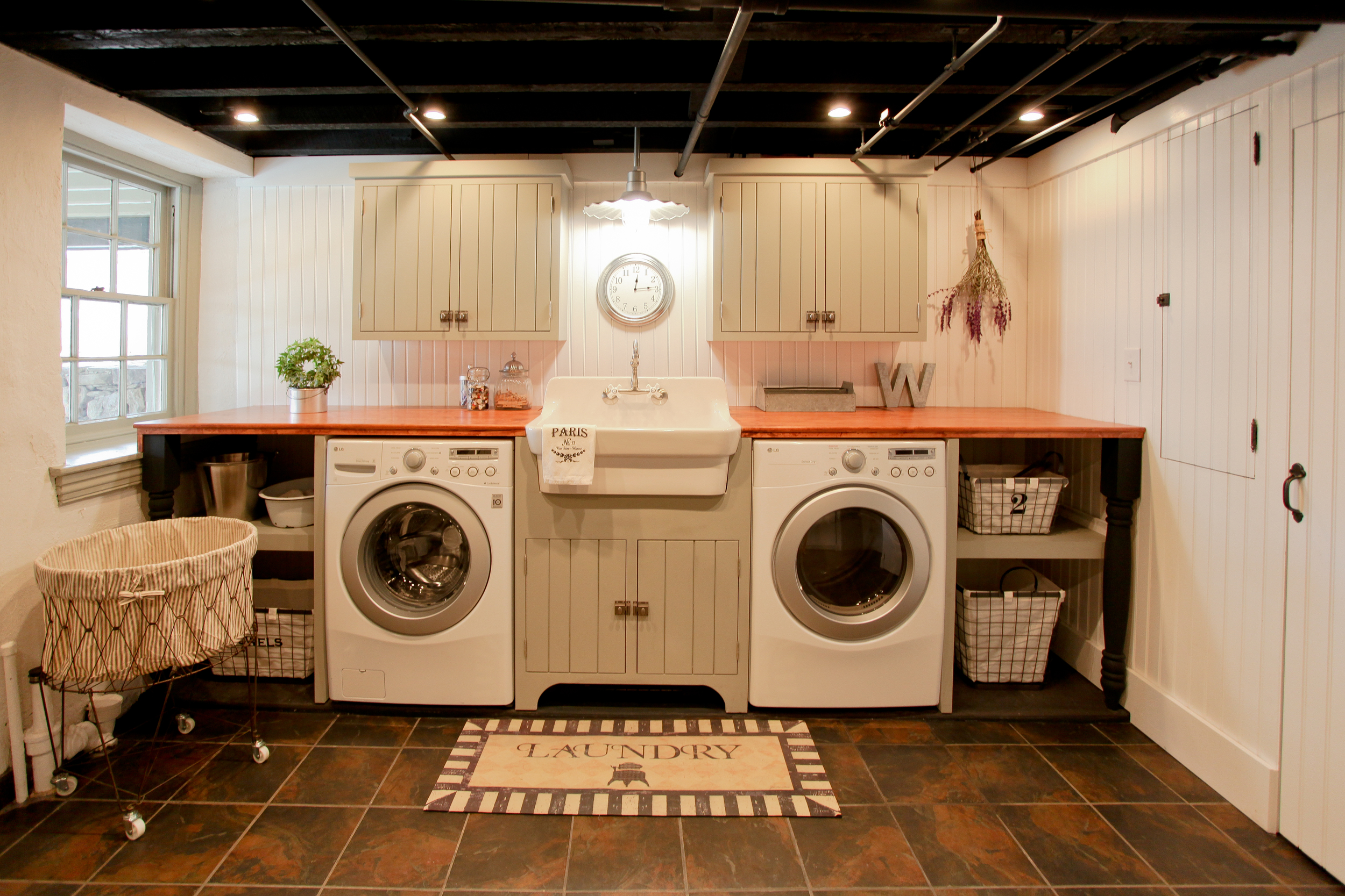 West Chester Basement & Laundry Remodel