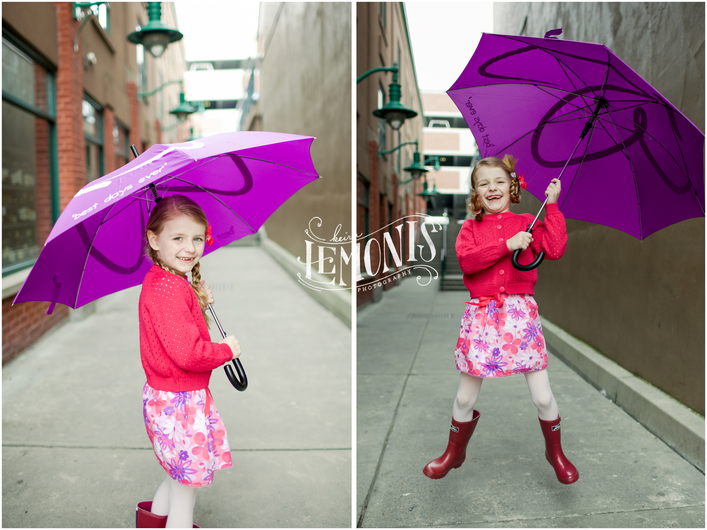 Here are two cute photos from the cover shoot!