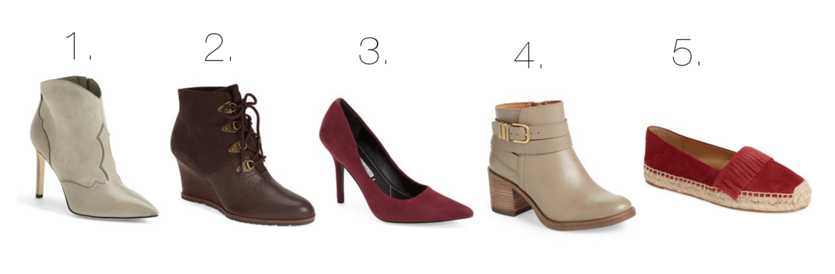 Nordstrom shoes up to 50% off - www.withacitydream.com