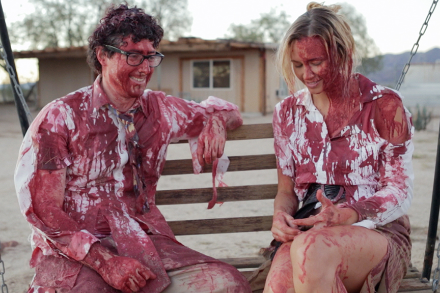 An adorably awkward IT guy finally gets a shot with the girl of his dreams - shortly after a zombie apocalypse.