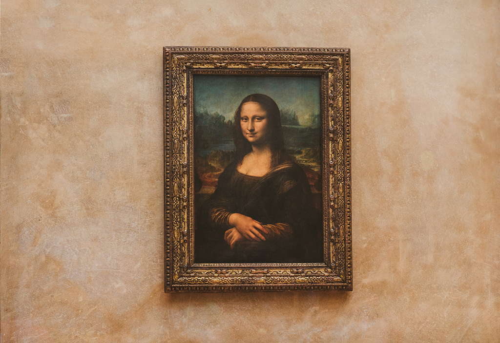I'm surprised I even got this shot of the Mona Lisa because there were so many people in front of the painting. I ended up using my 135 and shooting a Brenizer.