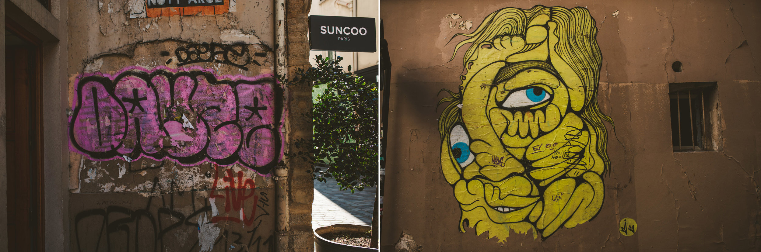 The graffiti art is really something to behold and adds such a layer of colour throughout the city.
