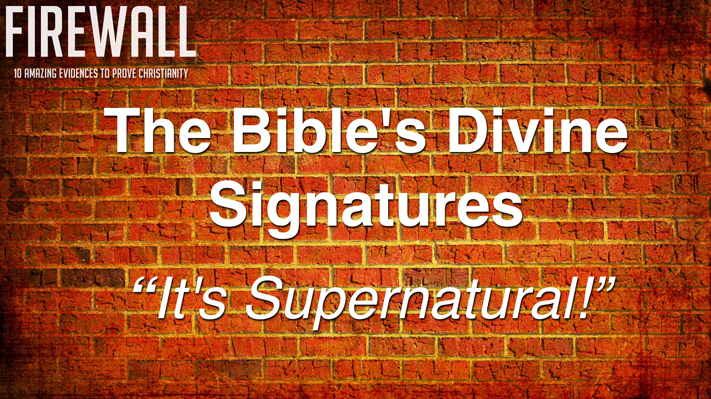 "Session 6: ""Divine Signature"" 2016 Apologetics Conference"